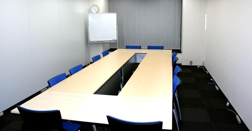 Cルーム 会議室形式(コの字型)